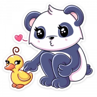 panda tori stickers telegram 18