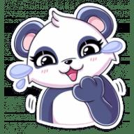 panda tori stickers telegram 22