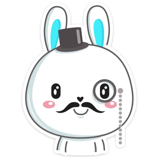 pashalnyj krolik stickers telegram 13