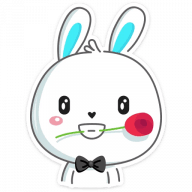 pashalnyj krolik stickers telegram 44