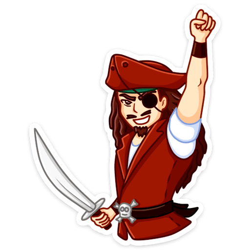 pastafarianstvo stickers telegram 13