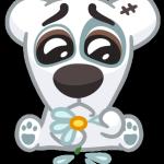 persik dela lyubovnnye stickers telegram 03
