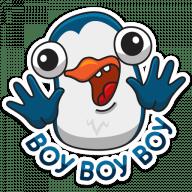 pingvin izi stickers telegram