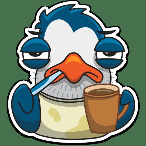 pingvin izi stickers telegram 04