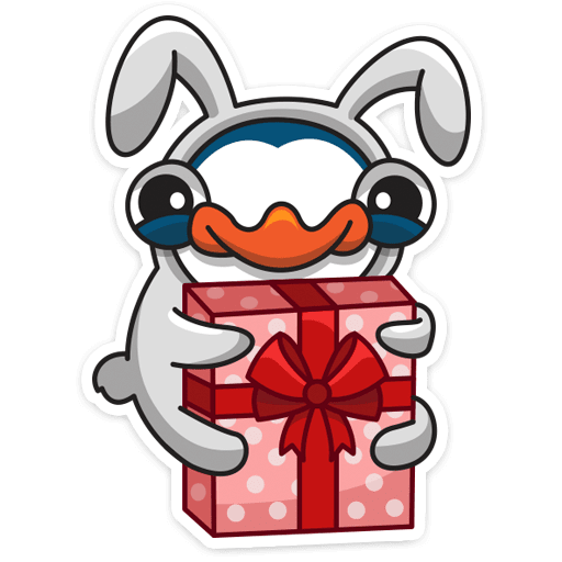 pingvin izi stickers telegram 06