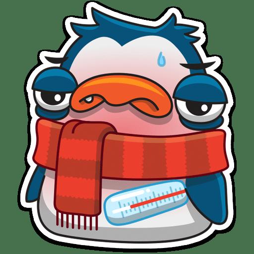 pingvin izi stickers telegram 09