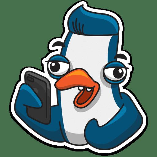 pingvin izi stickers telegram 13