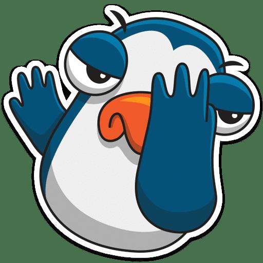 pingvin izi stickers telegram 15