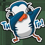 pingvin izi stickers telegram 21