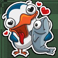 pingvin izi stickers telegram 26