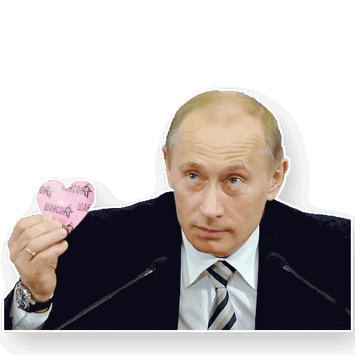 putin stickers telegram