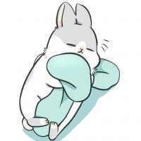 rabbit machiko stickers telegram 12