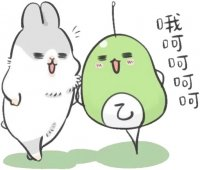 rabbit machiko stickers telegram 14