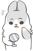 rabbit machiko stickers telegram 21