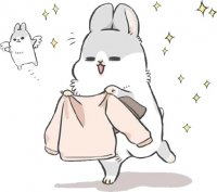 rabbit machiko stickers telegram 35