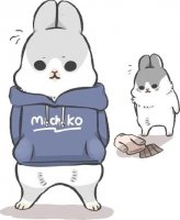 rabbit machiko stickers telegram 36