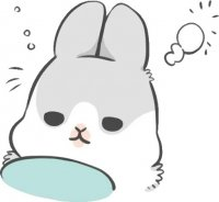 rabbit machiko stickers telegram 38