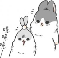 rabbit machiko stickers telegram 41