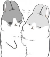 rabbit machiko stickers telegram 75