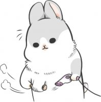 rabbit machiko stickers telegram 89