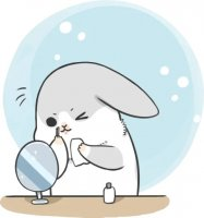rabbit machiko stickers telegram 94