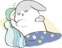 rabbit machiko stickers telegram 95