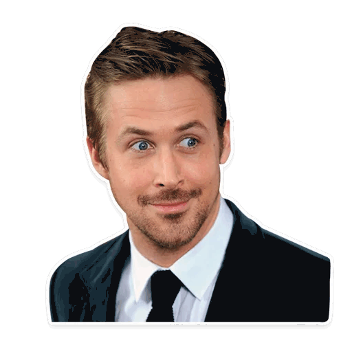 rajan gosling stickers telegram 02