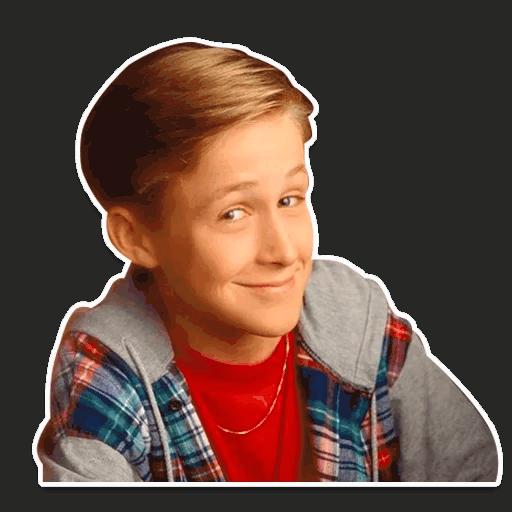 rajan gosling stickers telegram 09