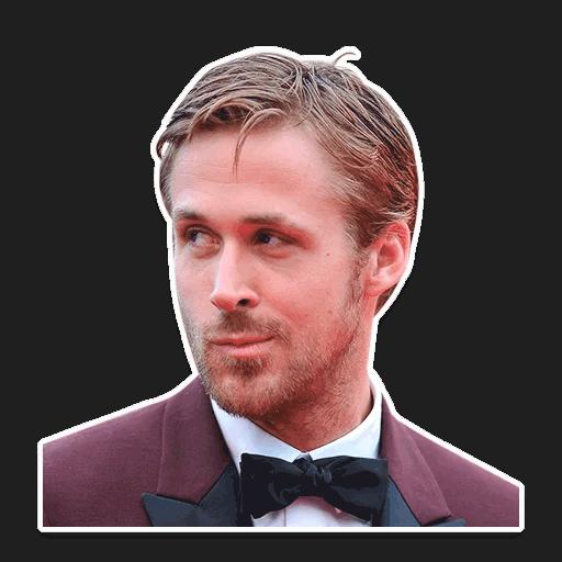 rajan gosling stickers telegram 10