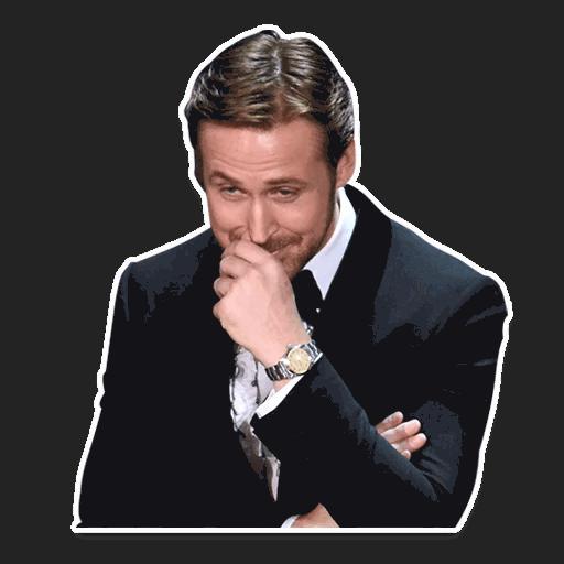 rajan gosling stickers telegram 11