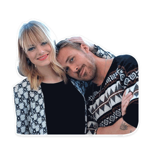 rajan gosling stickers telegram 12