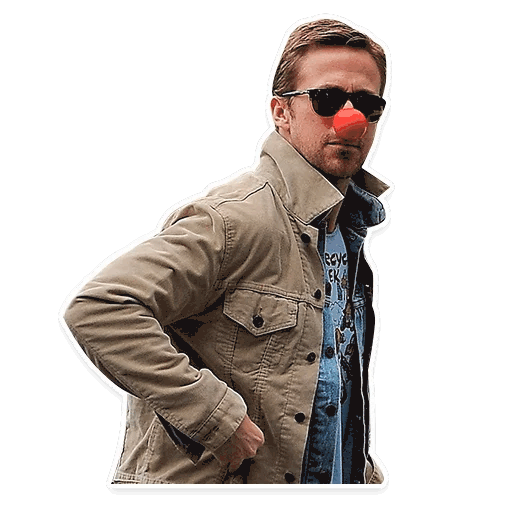 rajan gosling stickers telegram 13