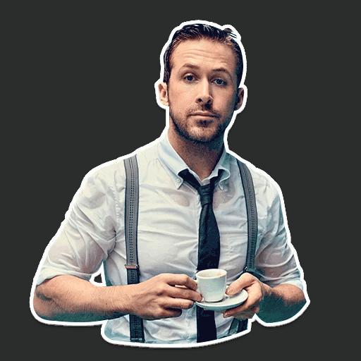 rajan gosling stickers telegram 16
