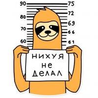 svobodnyj ot zabot lenivec stickers telegram 18