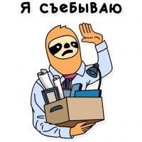 svobodnyj ot zabot lenivec stickers telegram 48