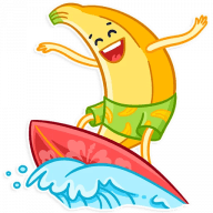 vesjolyj banan stickers telegram 04