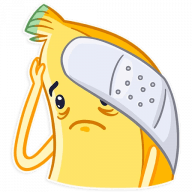 vesjolyj banan stickers telegram 05