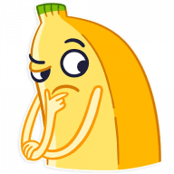 vesjolyj banan stickers telegram 10