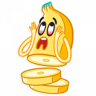 vesjolyj banan stickers telegram 14