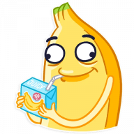 vesjolyj banan stickers telegram 15
