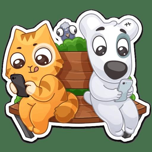 vk mobajl stickers telegram 21
