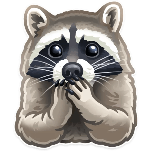 zhivotnye stickers telegram 13