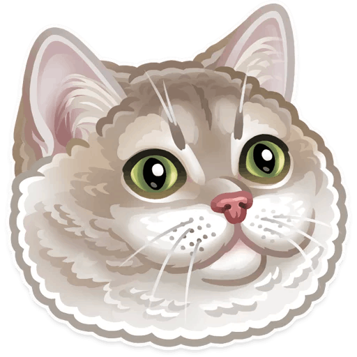 zhivotnye stickers telegram 30