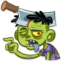 zombi stickers telegram 07