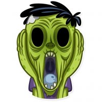 zombi stickers telegram 14