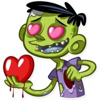zombi stickers telegram 23