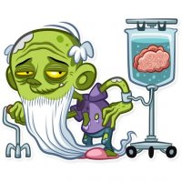 zombi stickers telegram 28