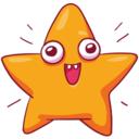 zvezdochka lui stickers telegram