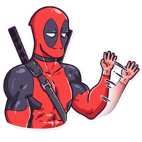 Deadpool stickers telegram 03