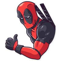 Deadpool stickers telegram 04